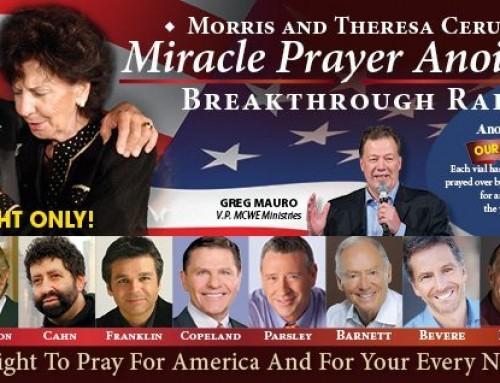 Miracle Prayer Anointing Breakthrough Rallies