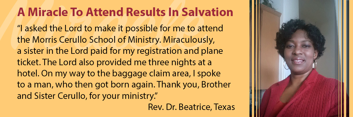 A Miracle Ending in Salvation