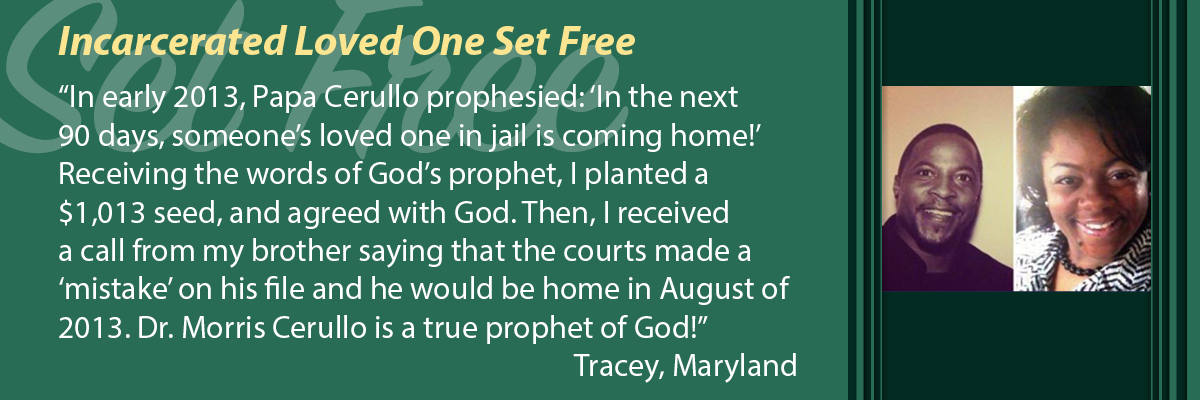 Incarcerated Loved One Set Free
