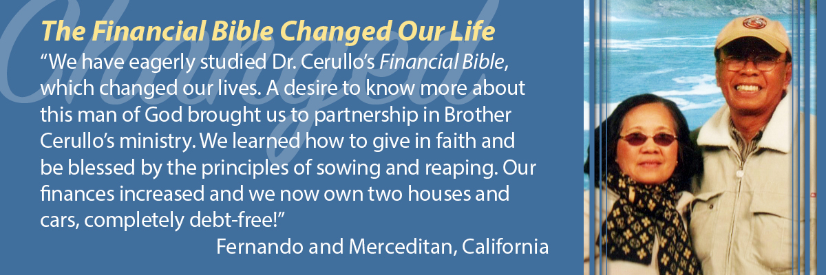 The Financial Bible Changed Our Life